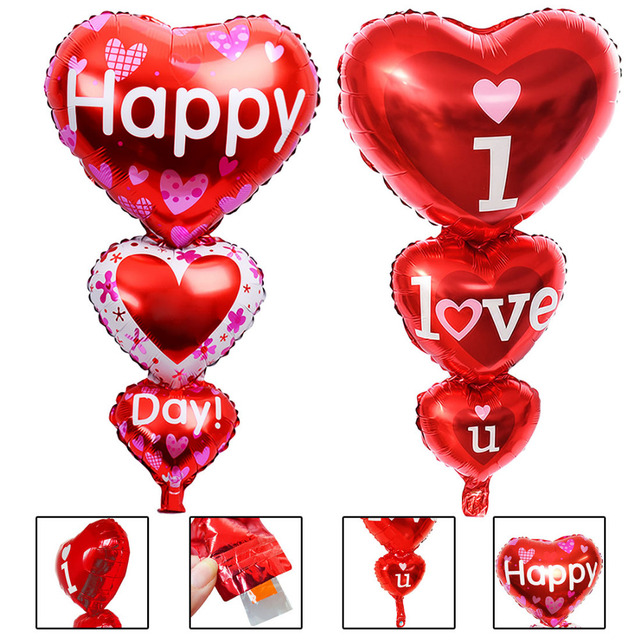 Top Così Grande Baloon Ti Amo ang Giorno Felice Palloncini Partito  YP01
