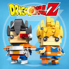 Dragon Ball Z Goku Vegeta Super Saiyan Ação Bulma Figura Estatueta Toy Blocos Tijolos Dragonball Z DBZ(China)