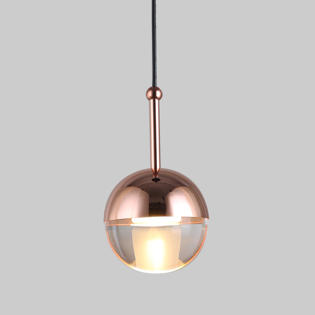 Modern LED Pendant Lights Dinning Living Room Glass Ball Lamp Hanging Lamp Nordic Simple Hanglampen Lustre Pendente LED