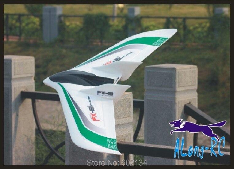 EPO Avión RC avión PFV juguete envergadura 1550mm volar ala nueva versión FX-61 FX61 (kit o PNP set) gran Z84 wingwing