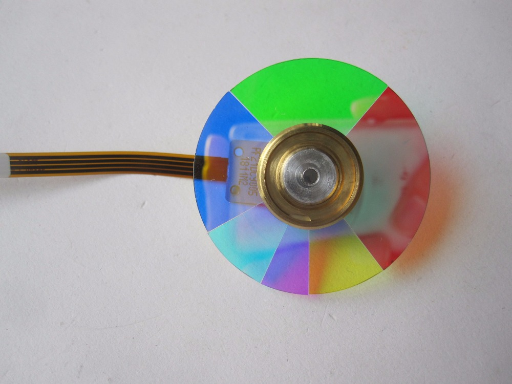 Projector Color Wheel Fit For Optoma Dell Optoma EP719 1800 DS303 projector color wheel for optoma hd72 free shipping
