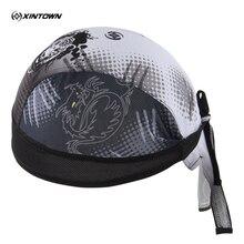 XINTOWN наружные велосипедные повязки Дракон и тигр велосипед спортивная шапка бандана шляпа шарф