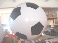 large inflatable football