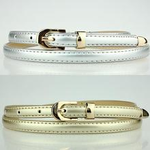 5pcs/lot Elegant Alloy Pin Buckle WaistBands Adjustable Leather Belts Ladies Outdoor Make Up Accessories os803