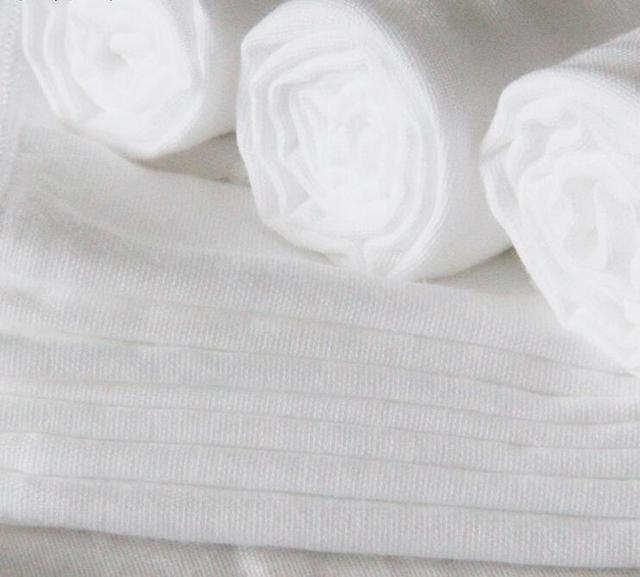 White Cotton Gauze Muslin Fabric Material Used For Wraps