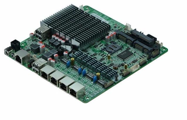4*82583V Quad Core J1900 Processor Industrial Firewall Motherboard Firewall Router Appliance Pfsense