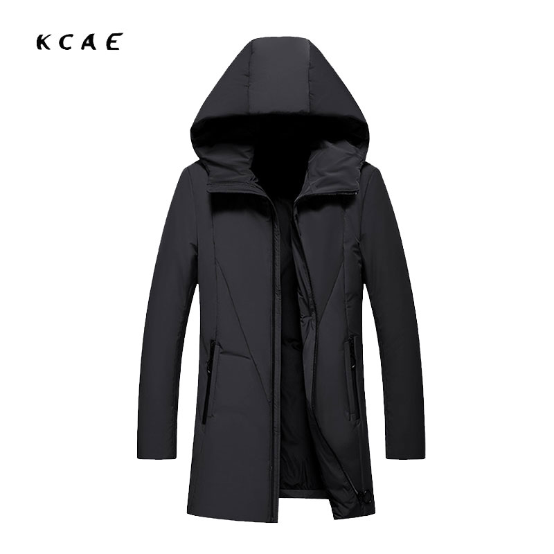 Winter new coat Korean version of the self-cultivation thick long jacket 90% white duck down jacket Men's casual jacket children s 2017 winter new children s down jacket big girls in the korean version of the girls down jacket long thick coat