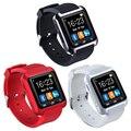 2016 Горячая U80 Bluetooth Смарт Часы Мужской Моды Спортивные Часы наручные LED Часы Пара Для iOS Android Телефон U8 U9 Smartwatch