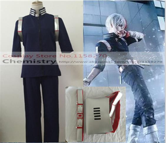 Free shipping My Hero Academia Shoto Todoroki Cosplay Costume