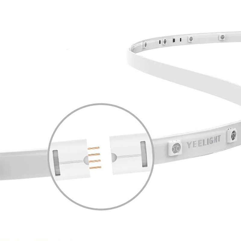 Oryginalny Xiaomi yeelight Inteligentna żarówka pasek inteligentnego domu WiFi APP zdalnie sterowanie światło LED taśmy rozszerzenie obsługa wersji szwy