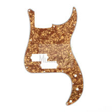 Pearl Bronze 4Ply P Bass Pickguard For US/Mexico Standard PB Precision Bass Style