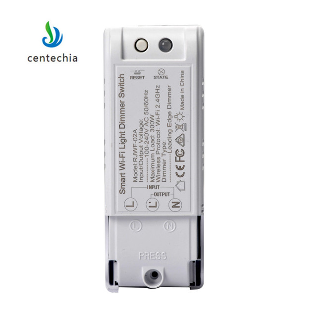 110 240 V inteligente DIY Dimmer para interruptor de luz controlador  inalámbrico automatización y Control voz Wifi regulador