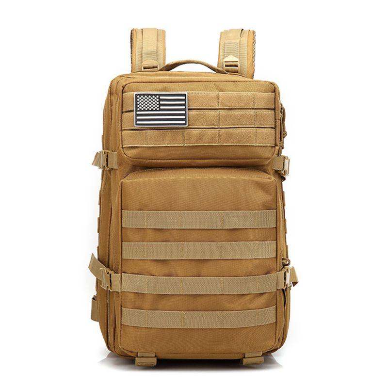 Sac à dos tactique militaire grand Pack d'assaut 3 jours sacs à dos armée Molle Bug Out sac en plein air randonnée sac à dos de chasse