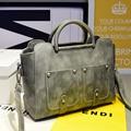 Luxury Women Leather Handbag Retro Vintage Bag Designer Handbags High Quality Famous Brand Tote Shoulder Ladies Hand Bag