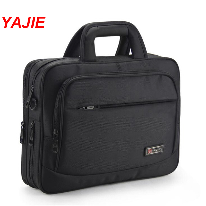 Briefcase YAJIE Notebook-Bag Laptop Top-Handle Black 14inch Women Bussiness Oxford Y444