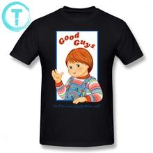 Chucky T Shirt Child S Play Good Guys T-Shirt Short Sleeve Mens Tee Oversized Streetwear Printed 100 Cotton Tshirt