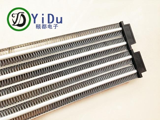 цена на 2500W ACDC 220V Industrial heater PTC ceramic air heater constant temperature heating element 280*102mm