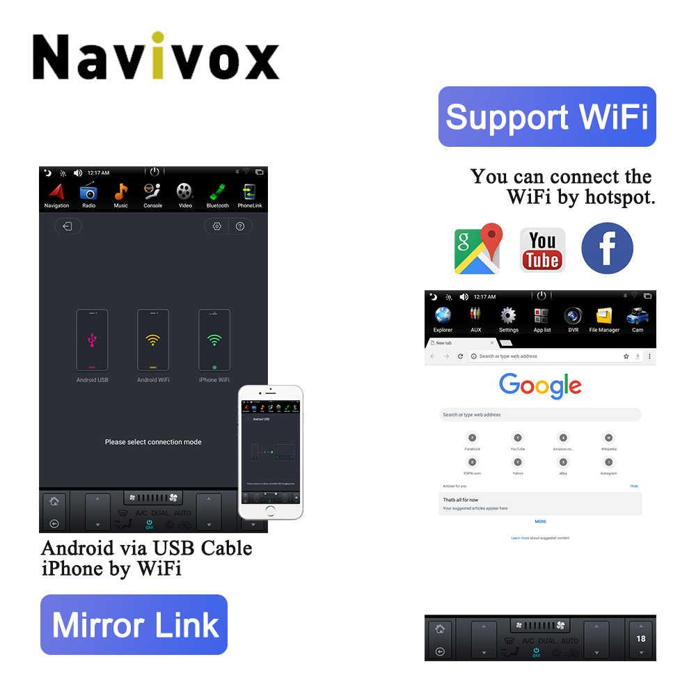 "Navivox 10.4 ""縦画面オペルアストラ J マルチメディアアンドロイド 7.1 車 Navigaton 用オペルアストラ J 2009- 2015 車の DVD GPS"