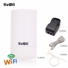 цены на 2PS 450Mbps 5G Outdoor CPE Router Wireless WIFI Extender Repeater 1-3KM Range Access Point Router WDS Wifi Bridge For IP Camera  в интернет-магазинах