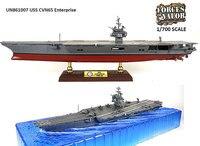 FOV 1/700 Scale USS предприятие CVN 65 авианосец литья под давлением Металл Военный корабль игрушка для коллекции, подарок