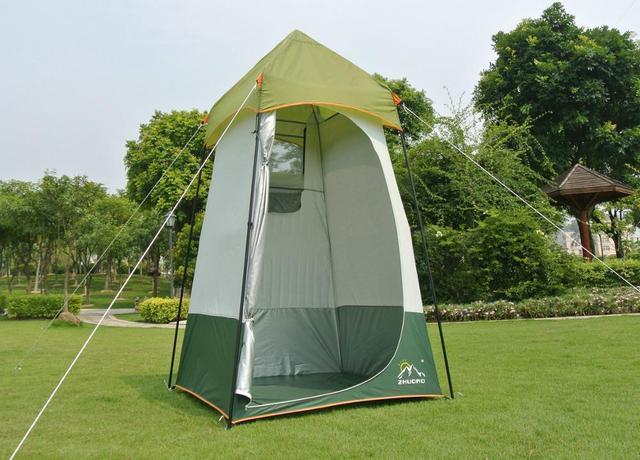 Außendusche zhuoao 124 124 235 cm einzelne person großen außen dusche wc mobile