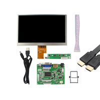 Raspberry Pi 2 7inch Screen 1024 600 HDMI VGA Input Screen