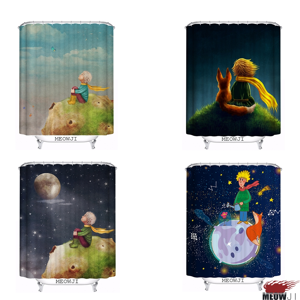 Fairy shower curtain - The Little Prince Beautiful Fairy Tale Custom Shower Curtain Bathroom Decor Various Sizes Free Shipping