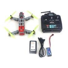 FPV 260 A Través de Marco Incluyendo Luz Trasera LED con Controlador de Vuelo y ESC Motor QQ TX y RX Cargador RTF Drone F16051-C