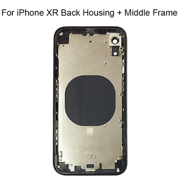 For iPhone XR Back Middle Frame Chassis Full Housing Assembly For iphone XR Battery Back Housing