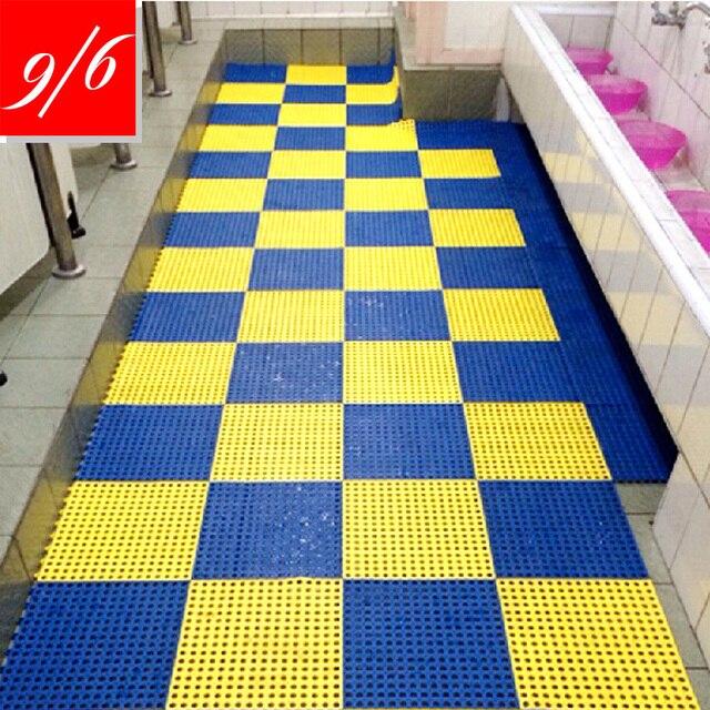 Bathroom Mat 2015 European 30X30cm Carpeted Floor Stitching Swimming ...