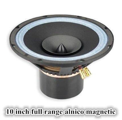 Aucham 10 Inch Fever Full Rangve Frequency Alnico Cobalt Magnetic Speaker 8 Ohm 35~70W