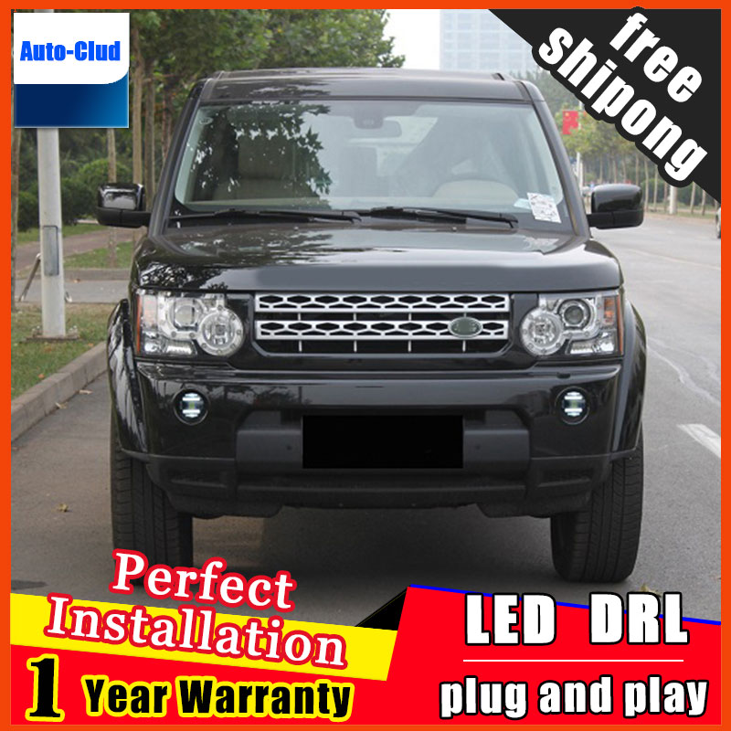 Car-styling LED fog light for Land Rover Discovery LED Fog lamp with lens and LED daytime running ligh for car 2 function