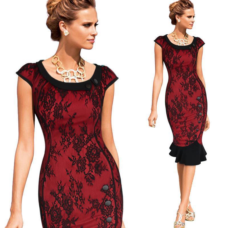 Western Weekend Lace Dress