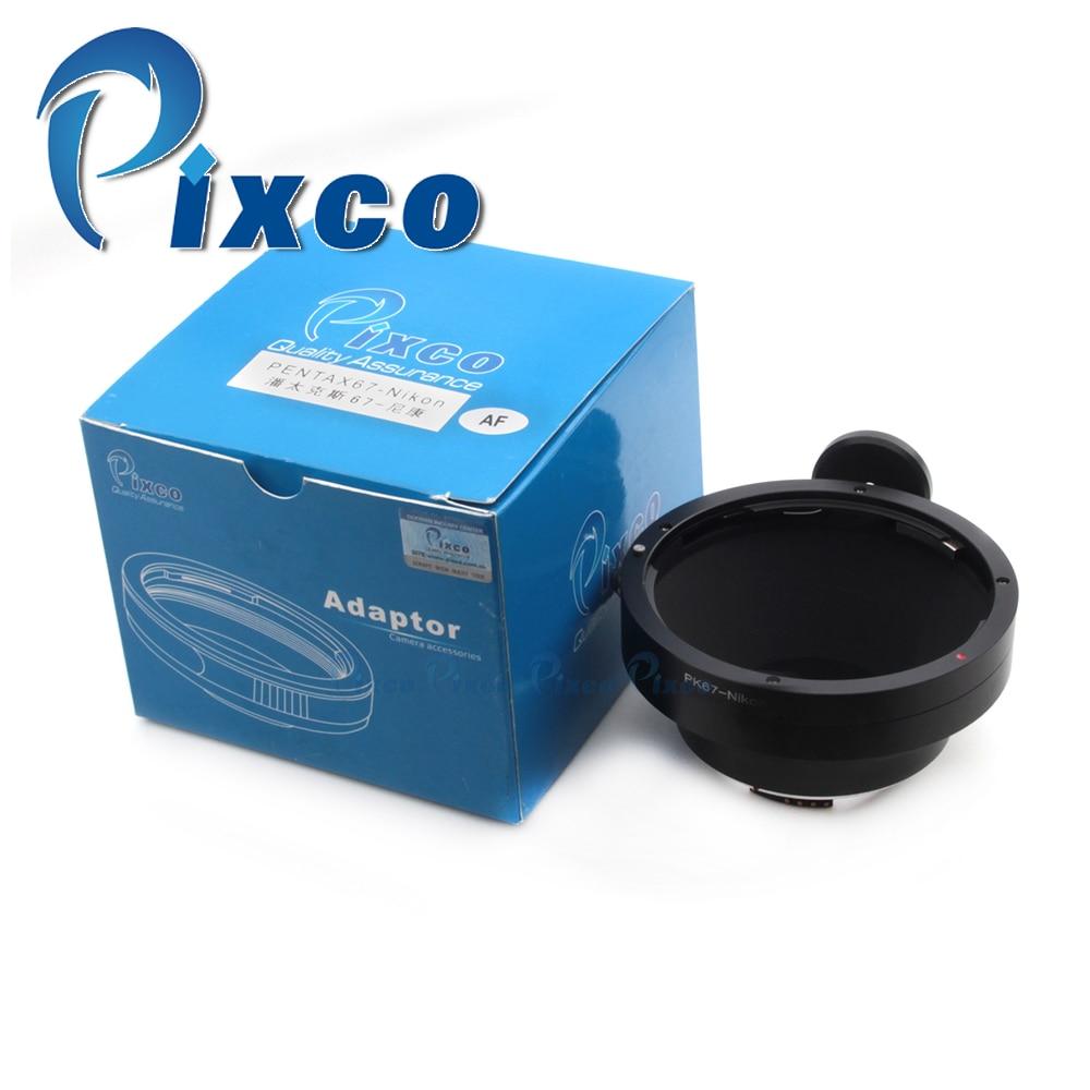 купить PIXCO AF Confirm Adapter Ring Suit For Pen tax 67 Lens to Nik on F Mount D90 D80 D3200 D5000 по цене 4190.08 рублей