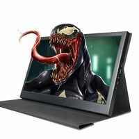 Monitor portátil 2K de 13,3 pulgadas, Mini pantalla LCD HDMI de 2560x1440 para videojuegos, PC para PS3/4 Xbox360, ordenador portátil, Raspberry Pi