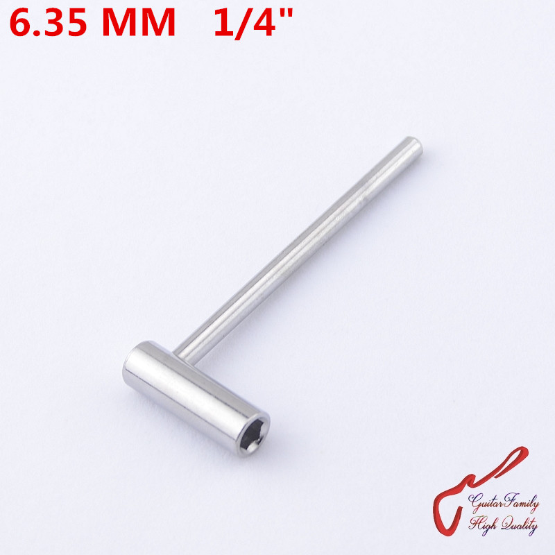1 Piece GuitarFamily  Electric Guitar Bass Truss Rod Hex Wrench Tool   6.35 MM  ( #0831 )  MADE IN KOREA kmise chrome plated metal truss rod cover for electric guitar replacement pack of 50