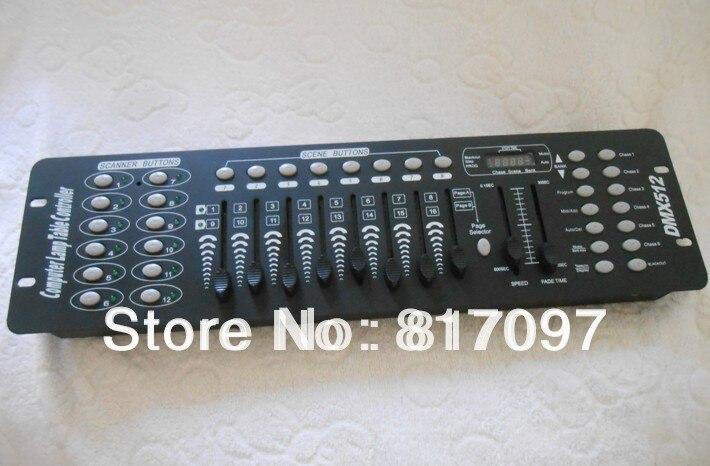 aobolighting 192CH dmx ovladač konzole dmx 512 ovladač pro Laser DJ Light Disco pohyblivá hlava Stage Lighting Console