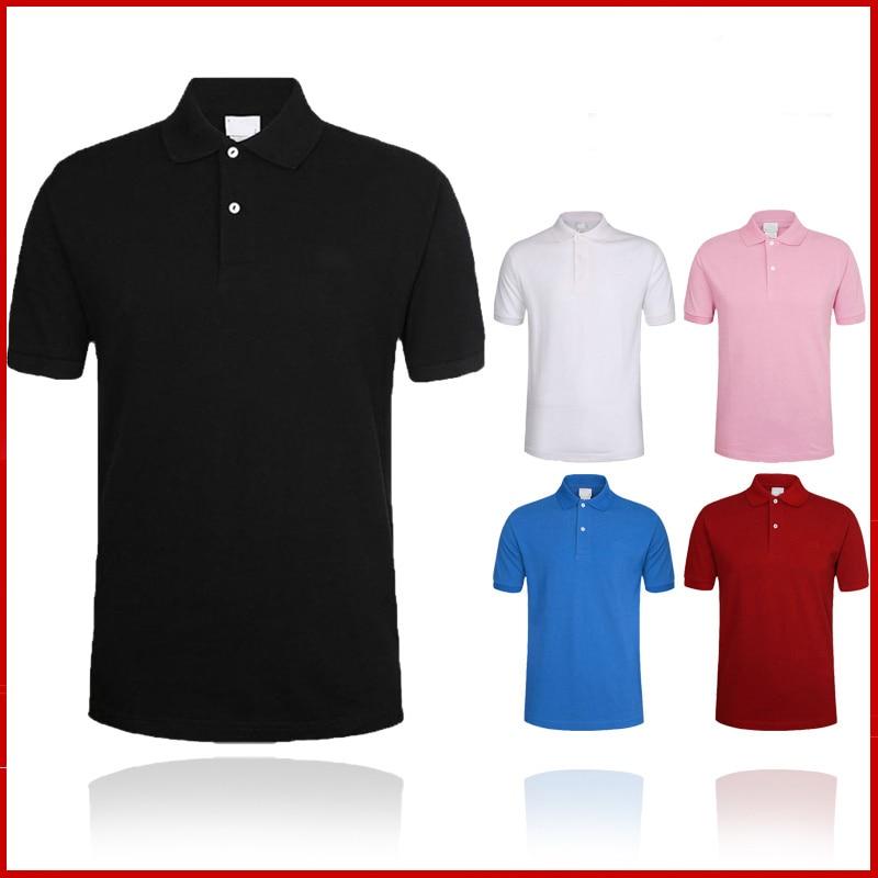 Polo   shirt men Shirt 2019 Brand Men's Fashion Classic Embroidery Logo Cotton Short Sleeve   Polo   Crocodile Shirts Solid Jersey