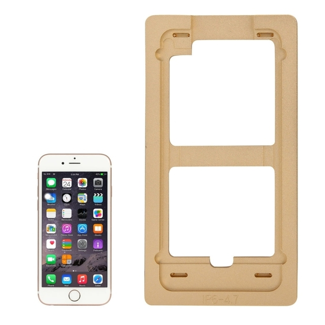Aluminium Alloy Precision Screen Refurbishment Mould Molds for iPhone 6 LCD and Touch Screen