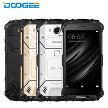 Original DOOGEE S60 IP68 Waterproof Cell Phone 5.2inch 6GB RAM 64GB ROM Helio P25 Octa Core Android7.0 5580mAh 21.0MP Smartphone
