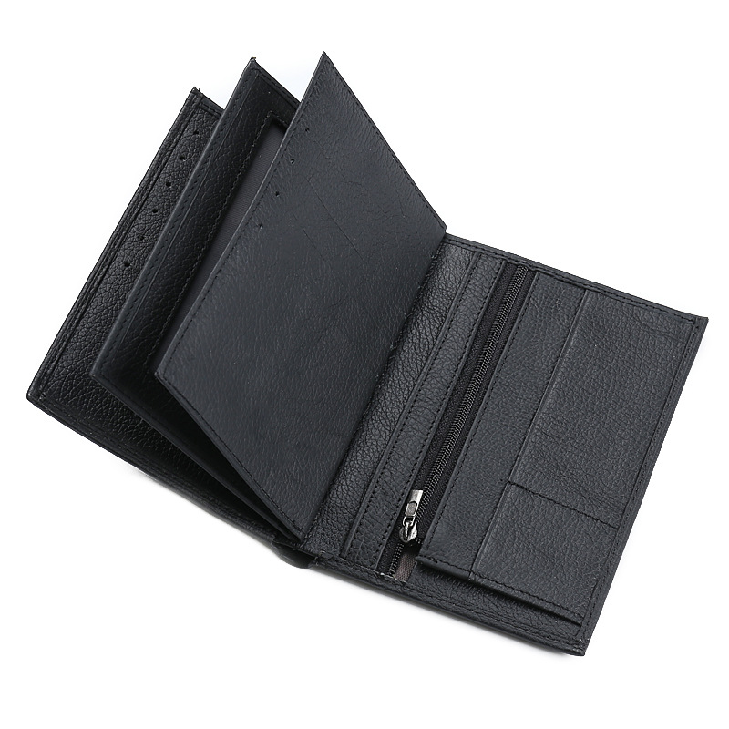 Vintage Men Wallets Genuine Leather Men Purse Passport Cover Leather Wallet Card Holder Money Bag Brand Male Short Coin Purses hot sale leather men s wallets famous brand casual short purses male small wallets cash card holder high quality money bags 2017