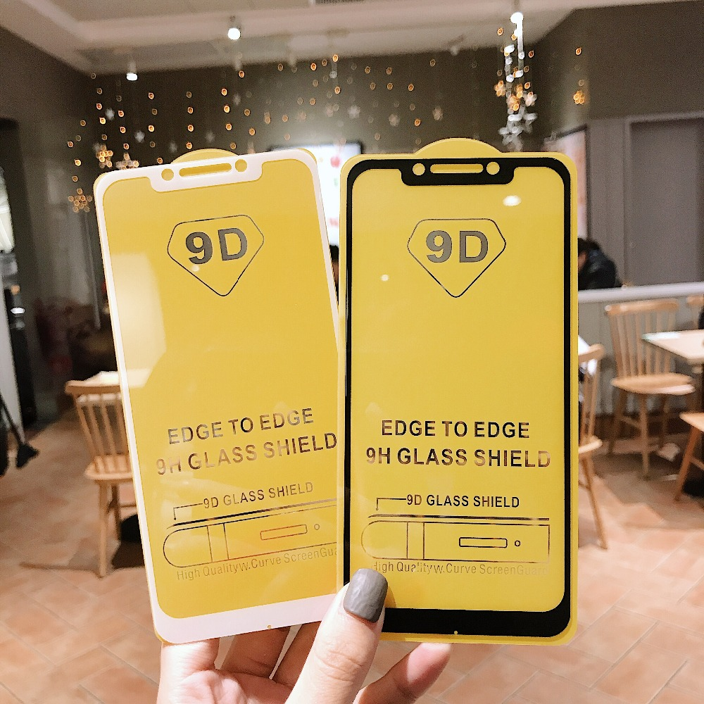 9D Screen Protector Tempered Glass For Xiaomi Redmi Note 6 5 5A Redmi 4X 5A 6A Protective Glass For Redmi 5 Plus 6 Pro S2 Film