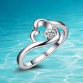 New fashion design;women 925 pure sliver ring;925Sterling silver; Joker fashion;Acceptable wholesale;