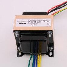 50VA (50 واط) 0 260 فولت 0 12.6 فولت 0 6.3 فولت EI نوع محول الطاقة الصوتي لمضخم الأنبوب