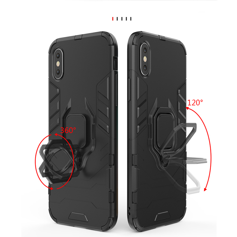 Image 5 - For Samsung Galaxy A60 Case Magnetic Finger Ring Kickstand Hard Phone Case For Samsung Galaxy A60 Cover For Samsung A60 Case-in Fitted Cases from Cellphones & Telecommunications