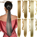 "22"" False Hair Tail Hairpiece Ponytail Synthetic Tress of  Hair Apply Long Straight Fake Ponytail Hair Ponytails"