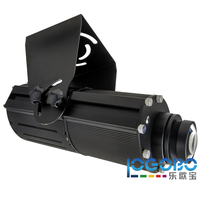 Super bright 100W LED Gobo Projector 8500 Lumens Projects 20-40m in dark surrounding Advertising Sign Logo Image Rotate Products