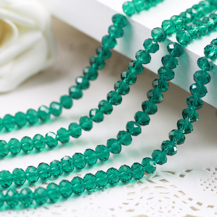 Green Zircon  Color 2mm,3mm,4mm,6mm,8mm 10mm,12mm 5040# AAA Top Quality loose Crystal Rondelle Glass beads emerald color 2mm 3mm 4mm 6mm 8mm 10mm 12mm 5040 aaa top quality loose crystal rondelle glass beads