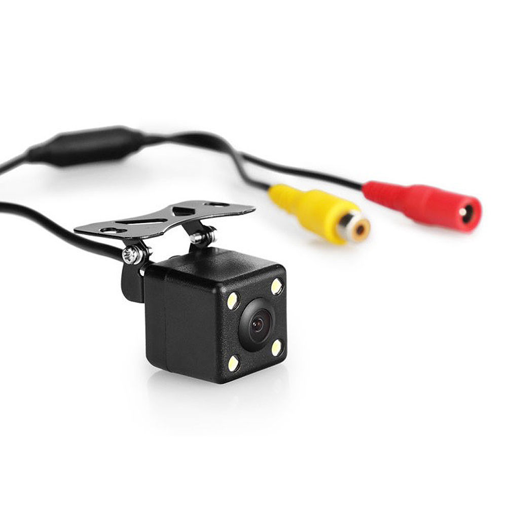 High Definition Color Wide Viewing Angle Universal Car Rear View License Plate Backup Camera fit for