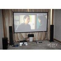 180 дюймов 16:9 Fast fold обратной проекции Экран/быстро раза Экран/большой открытый Проекционные экраны